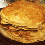 Favorite Whole Wheat Pancakes