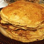 Favorite Whole Wheat Pancakes